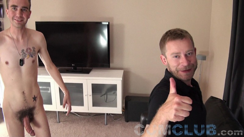 CumClub.com - Young, Hung, Leaking Cum!