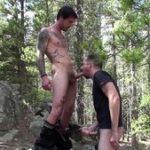 Mountain Man Cum Swallowing - CumClub.com