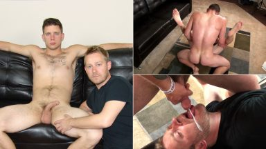 1st Gay Fuck & Feed - CumClub.com