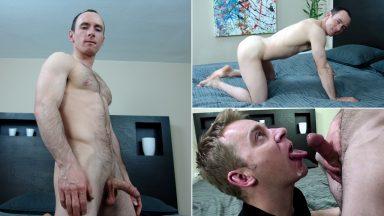 Muscle Stud Drained - CumClub.com