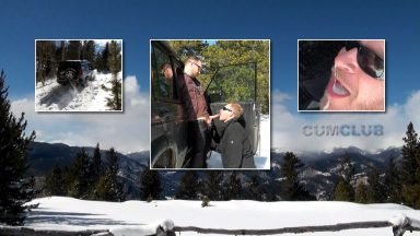 4x4 Winter Cum Swallow + Crash - CumClub.com