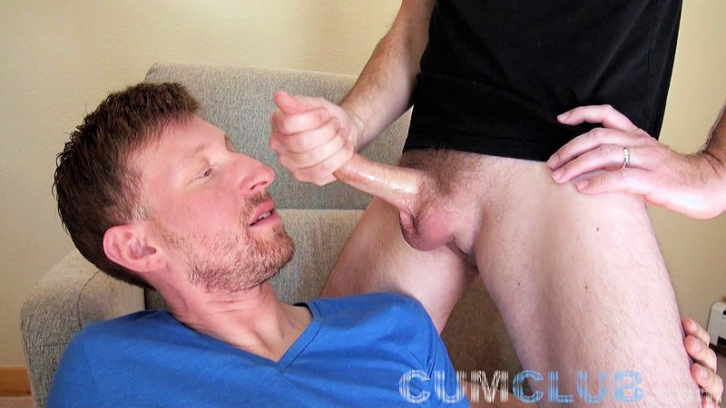 Ginger Swallows a Huge Load - CumClub.com