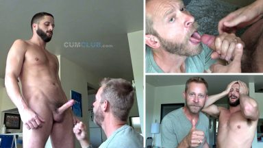 Swallowing Chase Parker - CumClub.com