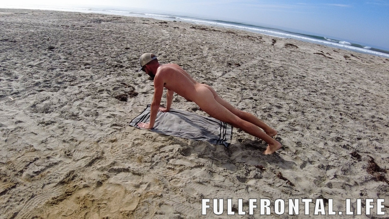 FullFrontal.Life | Nude Cycling | Beach Swallow