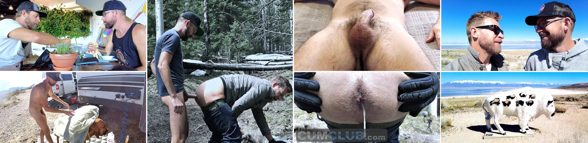 FullFrontal.Life | Nude Dog Wash | Great Salt Lake | Cum Eating | Mountain Breeding (ep 9)